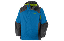 Columbia Boy&#039;s Cypress Brook II Jacket compass blue/grill/wham